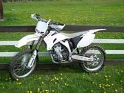 Dirtbike,  2007 Yamaha YZ 250 F