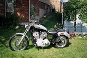 Harley Davidson 883 Sportser Anniversary Model
