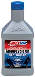 *NEW* Amsoil 10W-40,  20W-50 Advanced Synthetic Motorcycle Oil