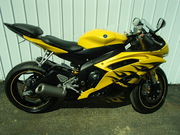Used 2008 Yamaha YZF R6  For Sale in Special Edition Yellow